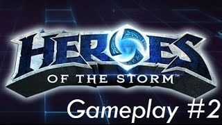 Heroes of the Storm Beta Gameplay #2 - Master Diablo