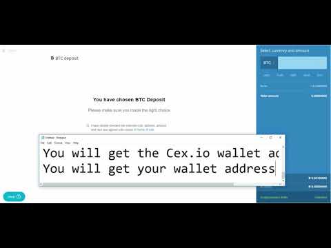 Cex Io Dashboard Review Deposite To Btc Wallet View Support Tickets