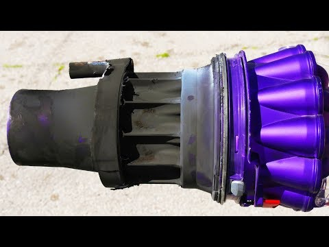 Will a Rocket Motor Burn in a Complete Vacuum Cleaner ? in 4K Slow Motion  - Rockets (S2 • E1)
