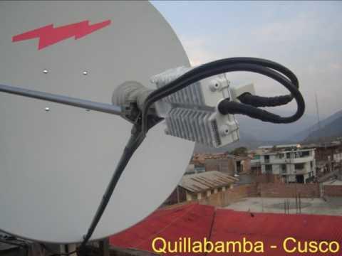 Instalación de Internet satelital