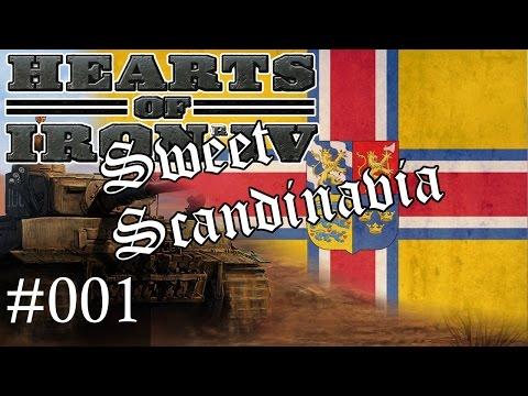 #01 Sweet Scandinavia, Hearts of Iron 4