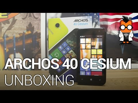 Archos 40 Cesium aka BLU WinJR unboxing & first impressions [ENGLISH]