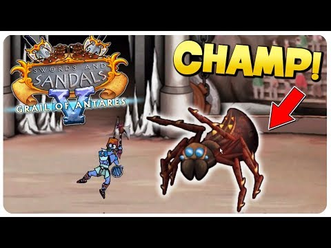 Swords and Sandals 5 - New Arena Boss! | Swords and Sandals Redux Gameplay