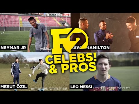 Thumbnail: BEST OF F2 WITH PROFESSIONAL FOOTBALLERS 2016!