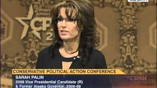 Smoking Hot ~ Palin NUKES Obama, Dems & GOP ~ IN EPIC INSPIRING SARAH STYLE! #CPAC2014