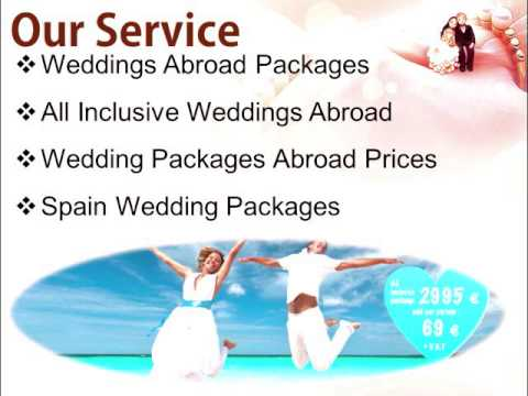 Wedding Abroad Plans Make Your Marriage Special Packages