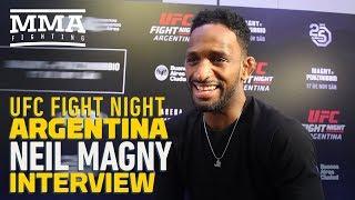 UFC Argentina: Neil Magny Says 'I'm Gonna Break Santiago Ponzinibbio' - MMA Fighting
