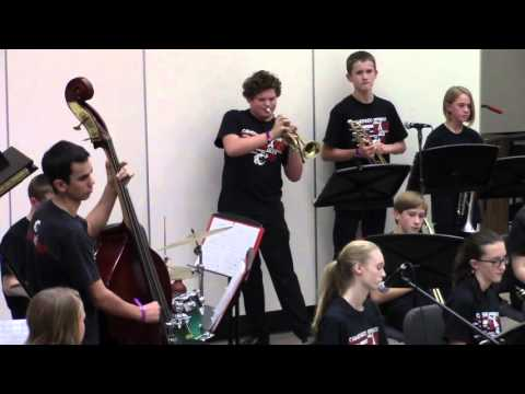 "Camerado Springs Middle School Jazz Band - ""Prayer Meetin'"""