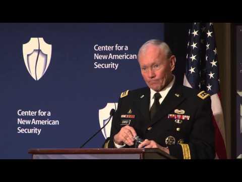 Keynote: GEN Martin Dempsey on Civil-Military Relations