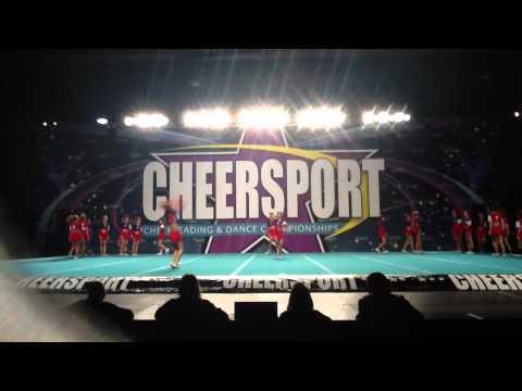 Tomball High School Cheerleading Comp