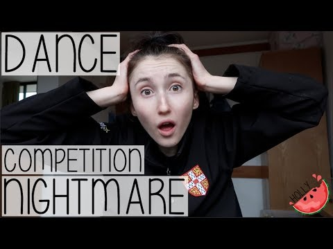 A DANCER'S WORST NIGHTMARE?! LONDON UNIVERSITY DANCE COMPETITIONS VLOG 2017 | HOLLY GABRIELLE