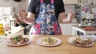 Top 3 meal kit cook-off