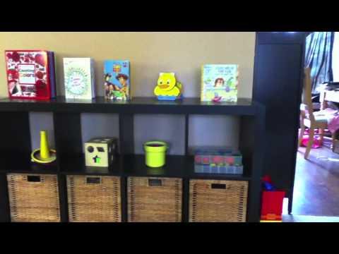 Superb Montessori   Toy Storage   YouTube