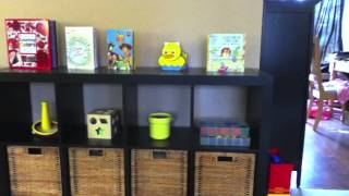 Montessori - Toy Storage