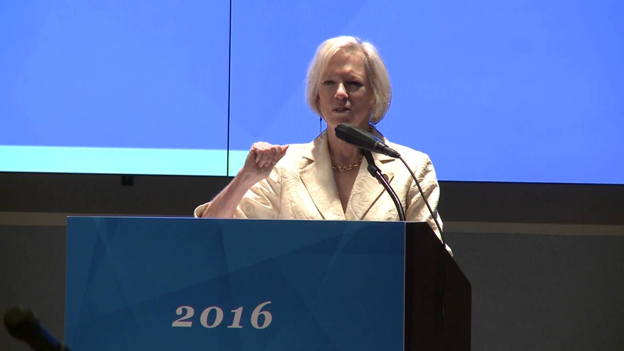 Kathy Calvin: 2016 Leadership Summit - YouTube