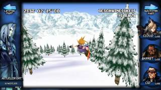 Final Fantasy VII - #46 - [Perfect Game]: Snowboard Action