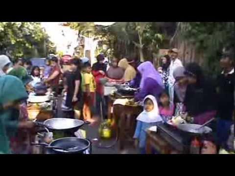 warga nangka Rt004 Rw01 cengkareng barat lomba masak 17 Agustus 2013