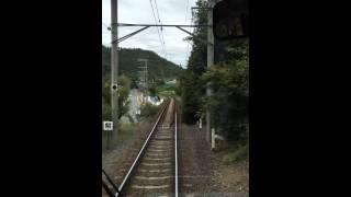 タイムラプス撮影 叡山電車 市原ー二ノ瀬間の「もみじのトンネル」