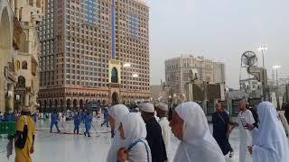 Cleaning of masjid Al Haram -------- Hajj 2018 Memories