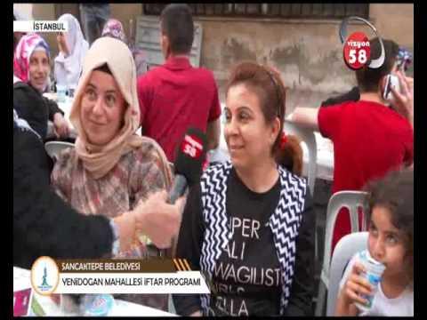SANCAKTEPE BELEDİYESİ YENİDOĞAN MAH  İFTARI VİZYON 58 TV