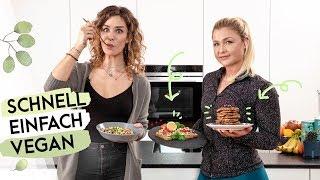 3 vegane FRÜHSTÜCKS-REZPETE ♥ Fitness Food mit Anja Zeidler ♥ Sophia Thiel