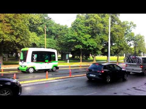 Tallinn - self driving bus
