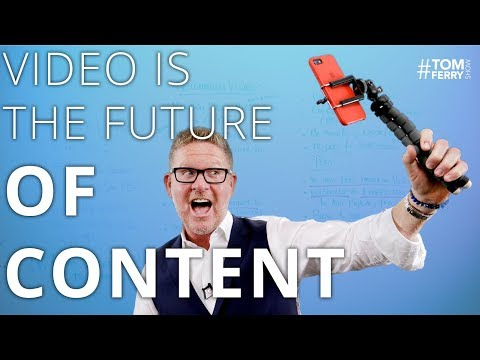 The Easy Guide to Real Estate Video Content Marketing | #TomFerryShow Episode 132