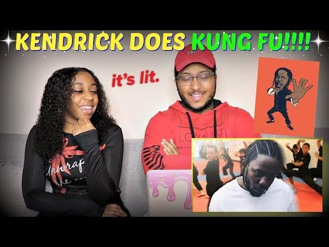 "Azerrz ""If Kendrick Lamar was a Kung Fu Teacher! (Parody)"" REACTION!!!"