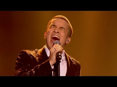 Jahmene Douglas sings The Beatles Let it Be  The Final  The X Factor UK 2012