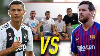 😱 RONALDO vs MESSI! lo SCONTRO FINALE w/FIUS GAMER, ENRY LAZZA e T4TINO23