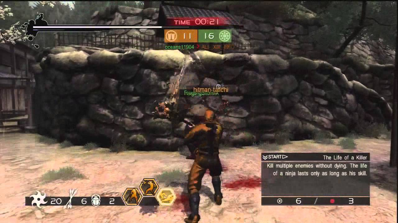 Ninja Gaiden 3 Razor S Edge Clan Battle Claw Exhibition Youtube
