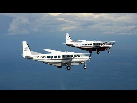 Textron Aviation ships first Grand Caravan EX to Botswana's Mack Air