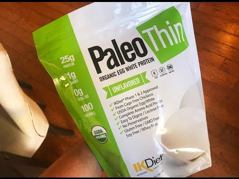 Paleo Thin® USDA Organic Egg White Protein Powder