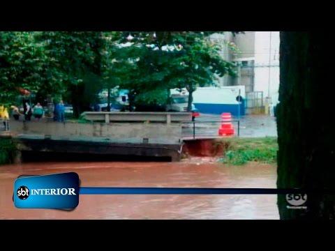 Catanduva: Dia de limpeza e de calcular os prejuízos causados pela chuva