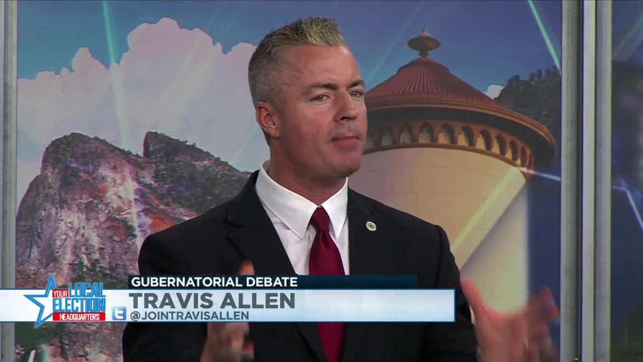 Travis Allen and John Cox debate conservatism
