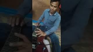 Suara gendang dangdut  dari gitar by anthony