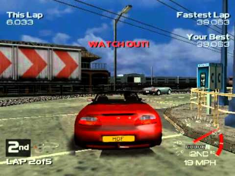 Metropolis Street Racer (Dreamcast Gameplay)