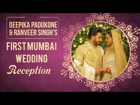 Deepika Padukone & Ranveer Singh's First Mumbai Wedding Reception | Deepveer | Bollywood