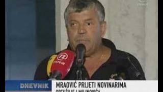 Početak demokracije u Lici - Mraovic prijeti novinarima