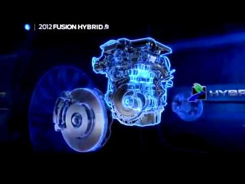 Ford Fusion Hybird VS Toyota Truck 2015