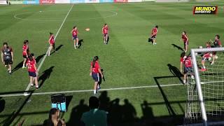 La Selección absoluta femenina entrena en Las Rozas