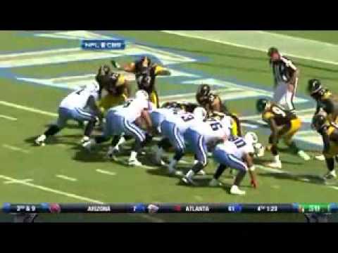 Troy Polamalu Superman (Flying) Tackle! (Steelers vs Titans)