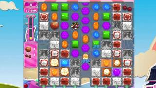 Candy Crush Saga Level 932 No Booster 3* stars 2 moves left