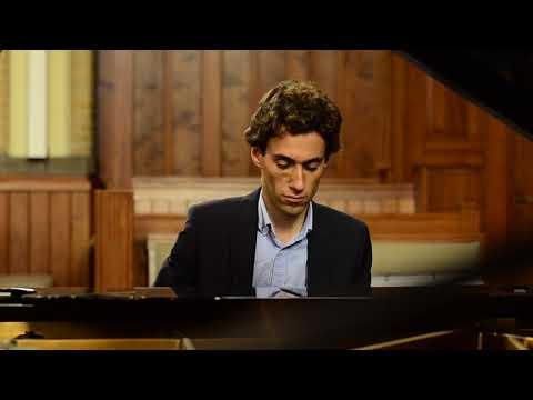 Camiel Boomsma playing Schubert/Liszt 'Gretchen am Spinnrade' - 1 min