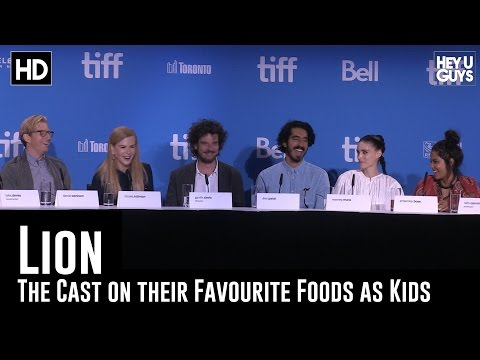 The Cast Reminisce on their favourite food as kids - Lion Press Conference (TIFF 2016)