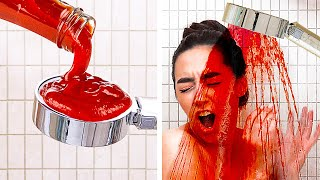 AMAZING AND FUNNY PRANKS AND HACKS