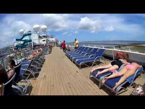 Carnival Liberty tour & cruise - Port Canaveral to Nassau, Bahamas! April 2017