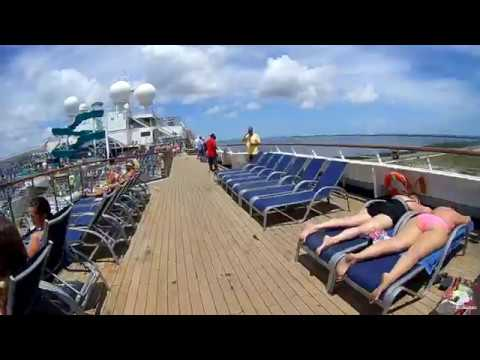 Carnival Liberty on a 3 night trip - Port Canaveral to Nassau, Bahamas! April 2017