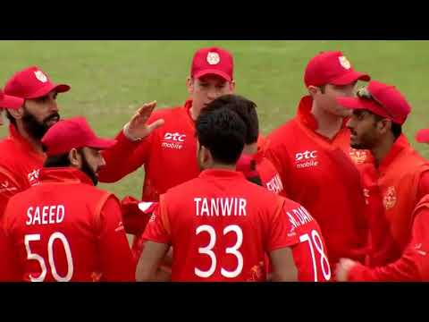 Ehsan Khan traps Dwayne Smith LBW - 2016 HK T20 Blitz