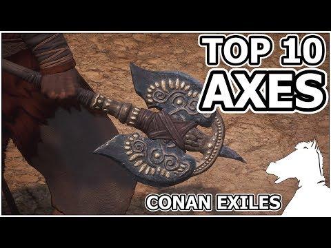 TOP 10 - Axes | CONAN EXILES